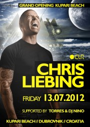 Chris Liebing Kupari Beach Grand Opening 2012