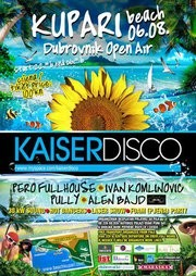 KAISERDISCO-OPEN AIR BEACH PARTY KUPARI