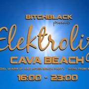 BitchBlack warm Elektroliza up @ Cava Beach